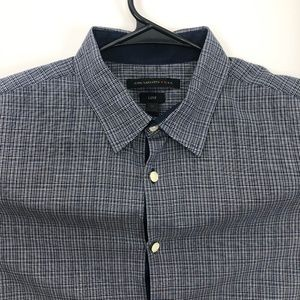 John Varvatos Luxe Shirt Blue Medium